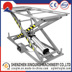 Semi-Automatic 140kg Sofa Electrical Working Pneumatic Lifting Table