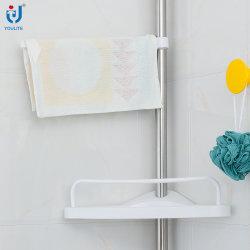 Telescopic Standing Wall Mount Bathroom Towel Rack