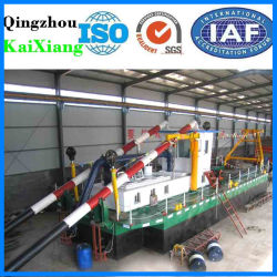 "12"" Hydraulic Sand Gold Dredging Machine for Salt Mining"