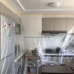Door and Window Wardrobe Cabinet Anti-Paint Dust Film Furniture Protective Film Wardrobe Dust Film
