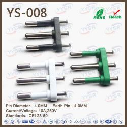 High Quality Wholesale 3 Pin Italy Power Plug