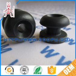 Oval Large PVC Plastic Blind Grommet Hole Cover / Rubber Closed Grommet Plug
