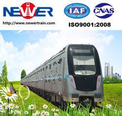Aluminum Alloy Railway Lrt Passenger Coach with Frame Bogies