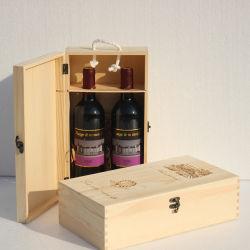 Wine Box & Bamboo Box & Bottle Holder & Double-Vessel Box & Storage Box for Wine