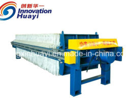 Slurry Filter Press in Filtration Equipment for Slurry Dewatering