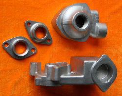 OEM Precision Steel Gravity Casting Parts for Self-Suction Pump