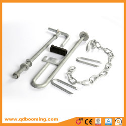 Galvanized Farm Gate Pack 5 Weld on Pin and Stocks Fittings