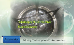 500L Stainless Steel Juice Mixing Tank with 200rpm Mixing Speed