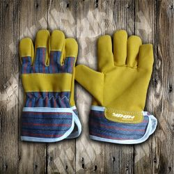Work Glove- Gloves-Synthetic Leather Glove- Safety Glove-Industrial Gloves-