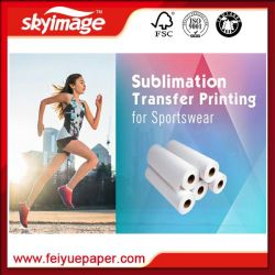 "100GSM 44"" High Sticky/ Adhesive Sublimation Paper for Sportswear"