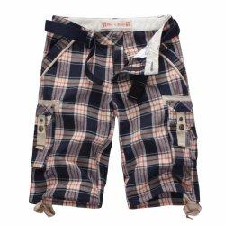 Men Mens Fashion Tc Yarn Dyed Fashion Cargo Shorts (023)