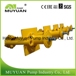 Effluent Handling Mineral Processing Vertical Slurry Pump