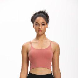 Women's Vest Plus Size Bra with Chest Pad New Yoga Sports Underwear