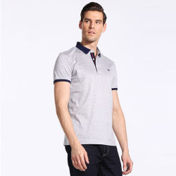 Wholesale Branded Polo T Shirt 100% Cotton Fashion Plain Golf Polo Shirt for Men