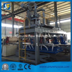 Cardboard Paperboard Making Machinery Using Agricultural Waste Rice Straw Material
