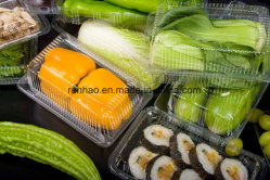 Custom Made Disposable Plastic Transparent Box for Fruit and Vegetable Packing