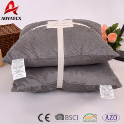 100% Polyester Micromink Wholesale Embroidered Cushion for Sofa