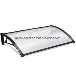 Polycarbonate Hollow Sheet Canopy Awnings for Door and Window