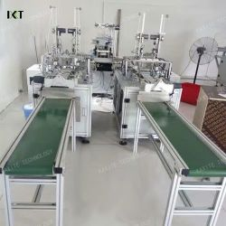 Full Automation Face Mask Machine for Earloop Face Mask
