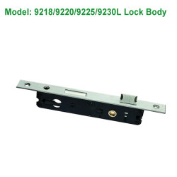 High Quality 304 Stainless Steel Security Hotel Key Door Lock Set with Best Price Made in China