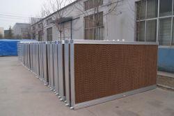 Greenhouse Evaporative Cooling Pad Wall