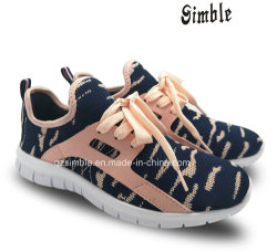 b79627439c0f9 Women Running Casual Shoes with Breathable Flyknit Upper (17346)