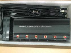 Build a mobile phone jammer - 10 Antennas Portable Mobile Phone Jammer/Jamming Range Up to 20M