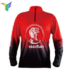 ca446a5a2 Custom Long Sleeve Quick Dry Fishing Shirts Wholesale Sublimation Polyester Fishing  Shirts