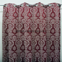 100% Polyester Blackout Fireproof Shower Curtains, Hotel Curtains and Permenant Flame Retardant Fabrics