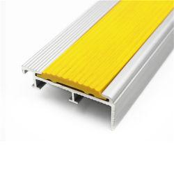 Elegant Extrusion Profile Aluminum Anti Slip Bullnose Stair Nosing Stair Tread