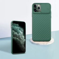 Universal Full Shockproof Lens Slide Silicone Camera Protective Soft TPU Mobile Phone Case for iPhone 11 PRO Max X Xr Xs Case