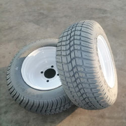 All Electric Vintage Car Classic Car Golf Cart Parts No Mark Tire for Five Star Hotel