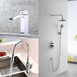 New Bathroom Waterfall Brass Lavatory Basin Kitchen Bathtub Shower Mixer
