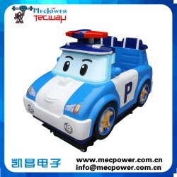 Indoor Games Kiddie Ride Poli Car