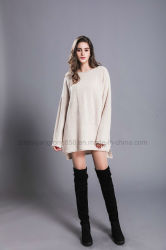 0fa7d401c94f New Design Women s Long Cardigan Large Sleeve Cashmere Sweater
