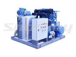 Slurry Ice Machine for Seafood Chilling with ASME Certification 10t/D