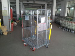 Warehouse Logistic Cargo Cart Trolley Storage Tool Car