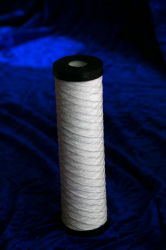Fabric Filter Cartridge with End Caps or Connections for Water Purifier