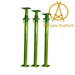 Hollow and Solid Scaffolding Steel Screw Base Jack for Construction