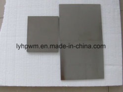 99.95% Top Grade Polished Molybdenum Sheet Plate Thickness 25mm Length300mm