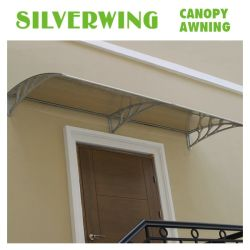 Buliding Material Polycarbonate Awning /Canopy/Shelter/Gazebo/Sunshade for Door and Window & China Polycarbonate Hollow Sheets Sunshade Polycarbonate Hollow ...