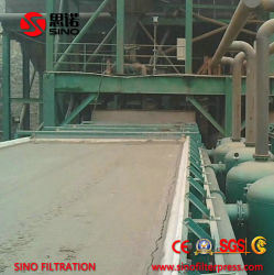 China Vacuum Belt Filter Press Machine for Dewatering