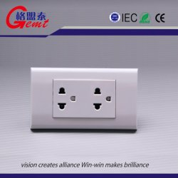 Us Standard Decorative Electrical Wall Outlet 15A White Wall Plates