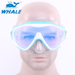Men Women Youths Adults Diving Snorkeling Mask with 100% Silicone