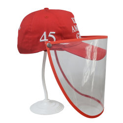 Adult Kids Fashion Baseball Hat with Face Shiled Protection Cap and Hats Sports Hat