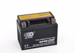 12V4ah 12V 4ah Ytx4l-BS Outdo AGM Sealed Mf Maintenance Free Factory Activated Power Sports Starter High Performance Rechargeable Lead Acid Motorcycle Battery
