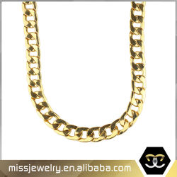 Hip Hop Jewelry 14K Gold Filled Chain Bulk Wholesale