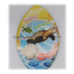 Customized Ocean Turtle MDF Wood Fridge Magnets Crafts