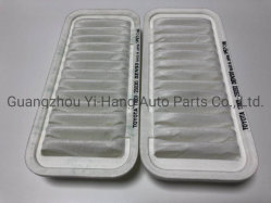 Camry 17801-28030 Car Engine Air Filter Rectangle Shaped White