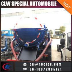 China Good Sales 8m3 10m3 Sewage Vehicle Vacuum Tank